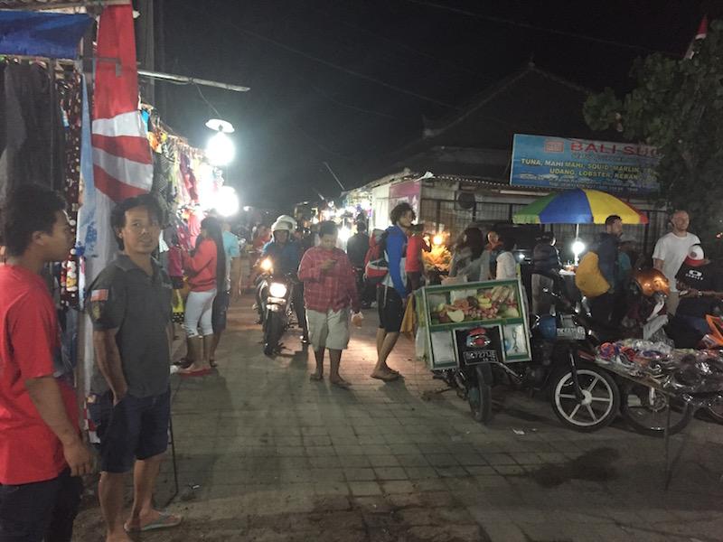 Nachtmarkt Jimbaran