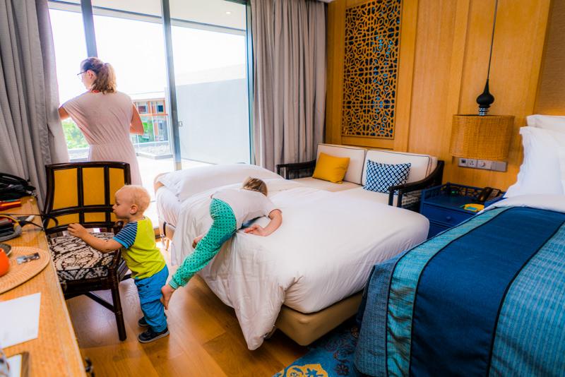 bali mit kindern hotel