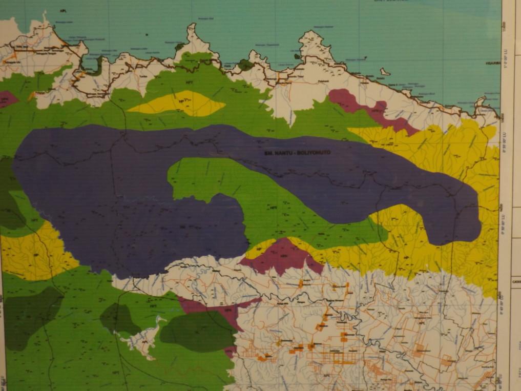 Nantu Forest Karte