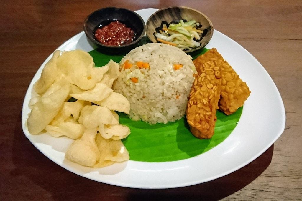 Nasi Goreng Tempeh Sorong