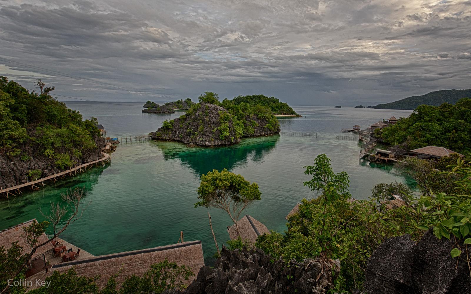 Das Nirvana Resort auf Pulau Labengki