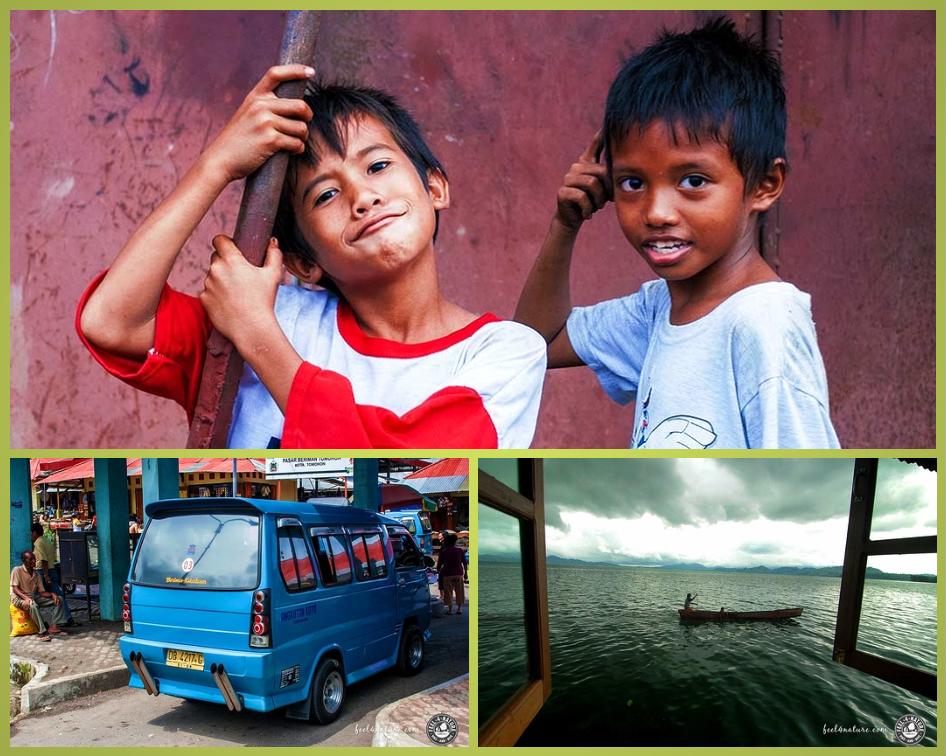 Impressionen aus Manado und Tondano. Fotos: Christian Hubo