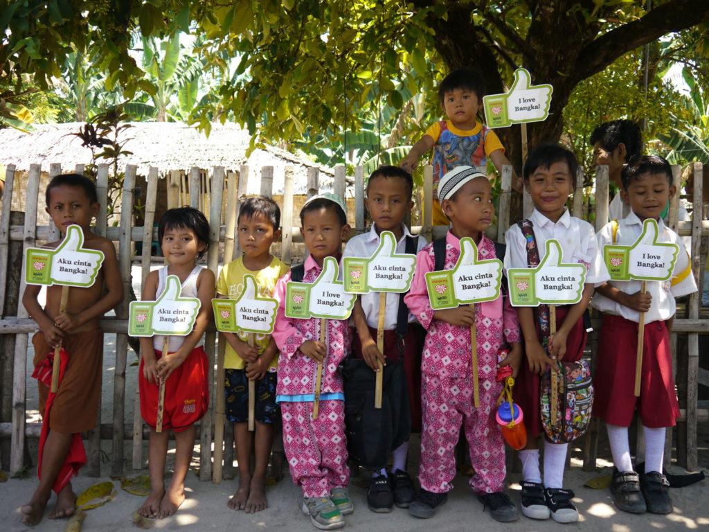 Lass uns gemeinsam kämpfen für Bangka und die Zukunft seiner Kinder – Die Crowdfunding Kampagne ist ein erster Schritt – Foto: Eku Wand