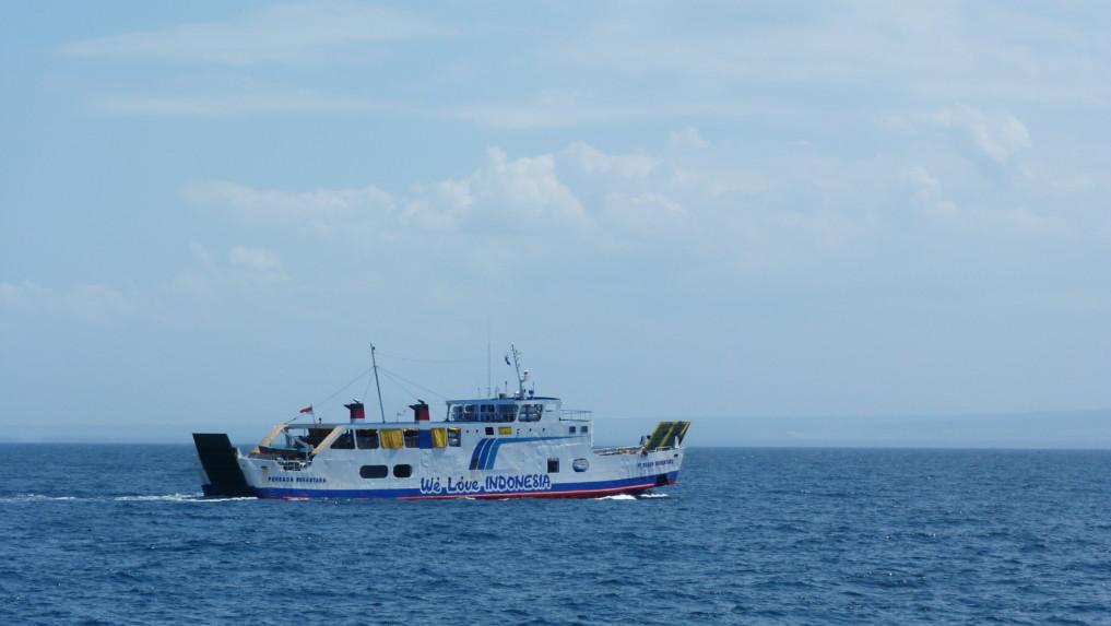 Fähre von Bali nach Lombok