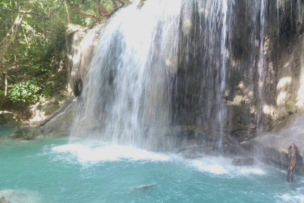 Wasserfall Pulau Moyo