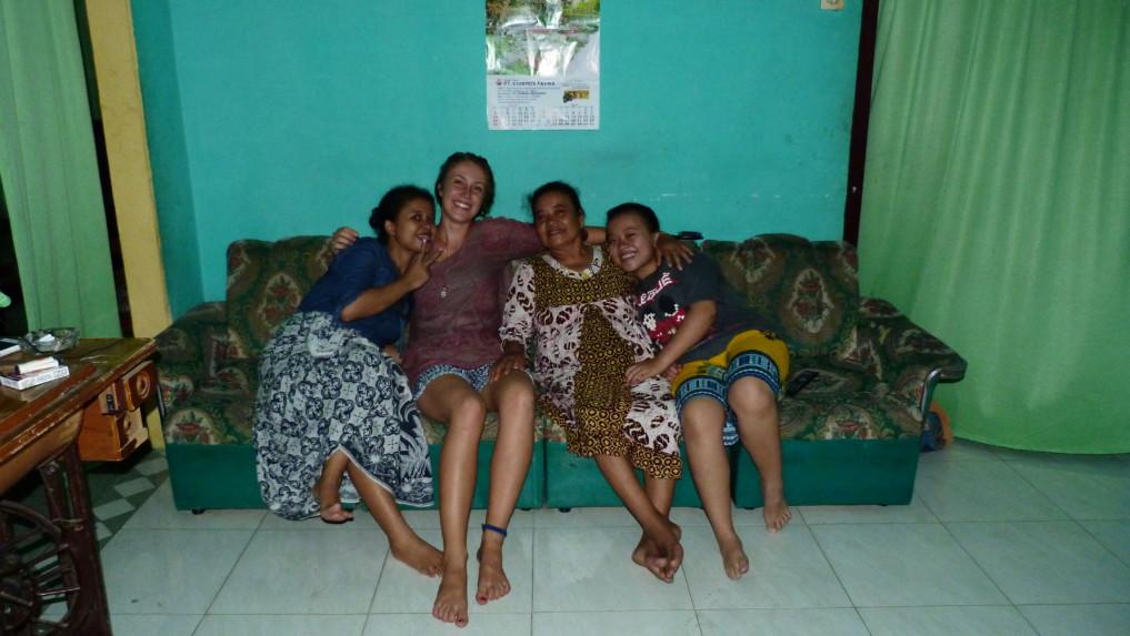 Couchsurfing Indonesien
