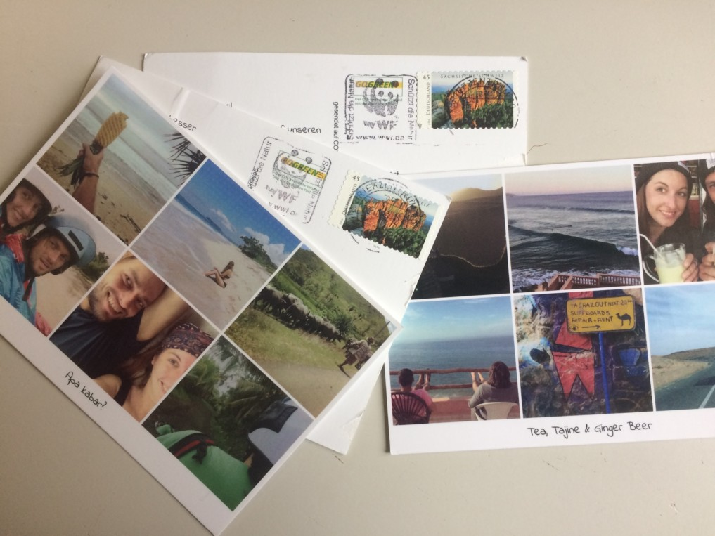 Postkarten-Postando-App