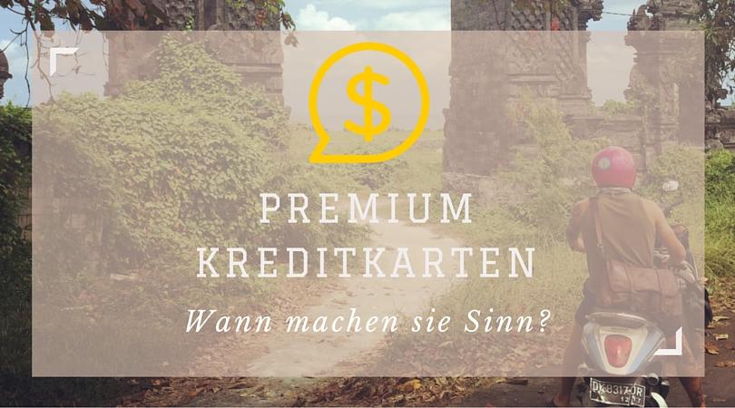 Premiumkreditkarte