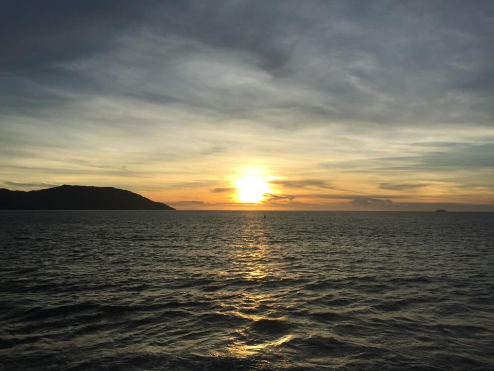 Pulau Weh Sabang Fair Sonnenuntergang