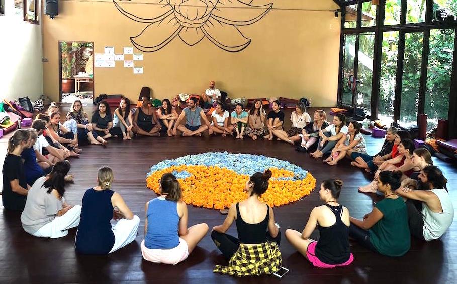 Meditationslehrer Ausbildung bei Punnu.