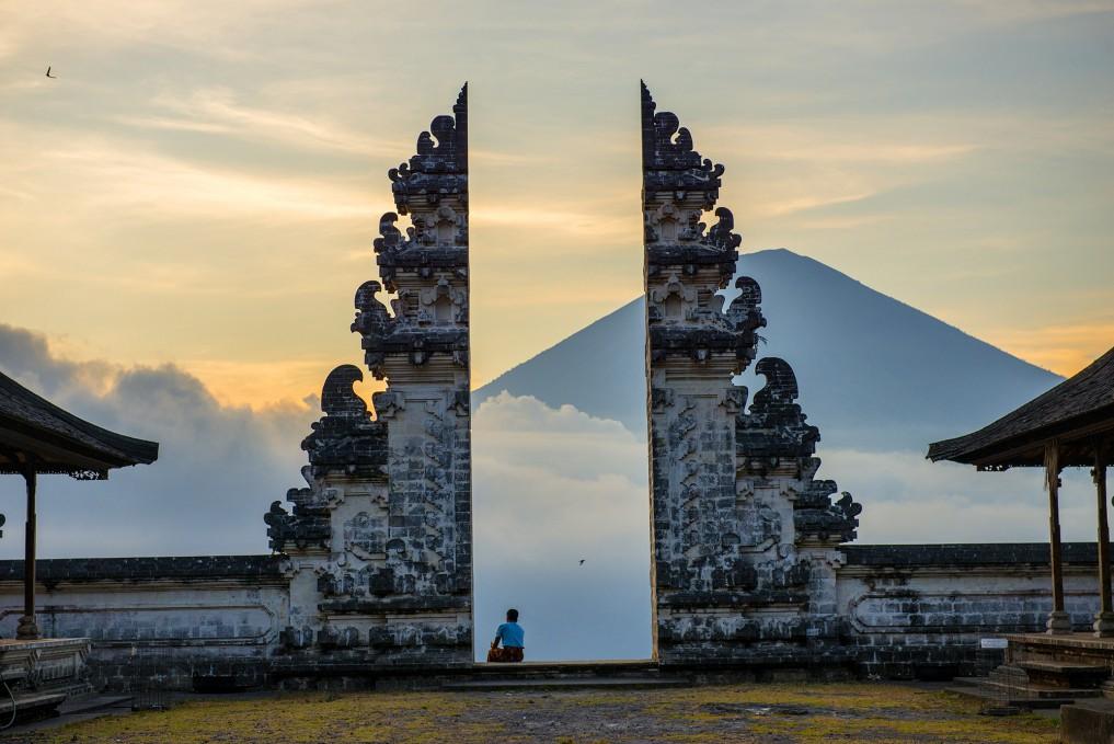 Bali Sehenswürdigkeiten Pura-Lempuyang-Entrance