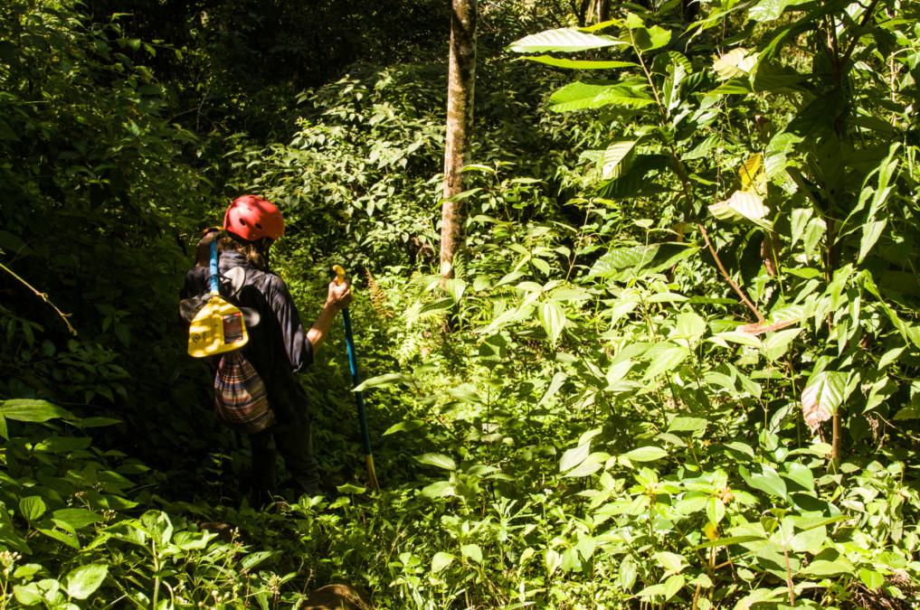 Rafting in Indonesien: Auf dem Weg