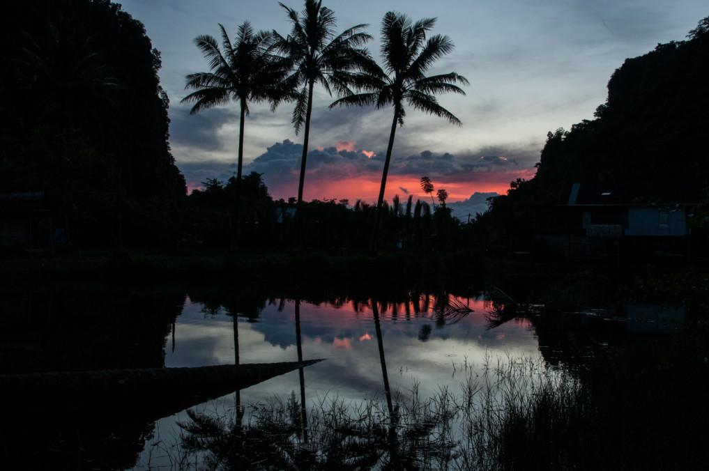 Sonnenuntergang Indonesien