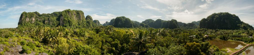 Ramang Ramang Sulawesi Panorama 2