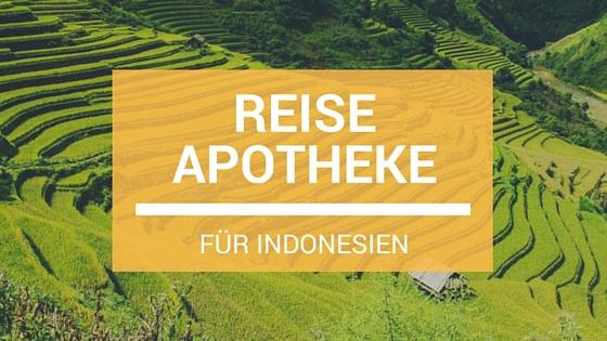 Reiseapotheke Indonesien