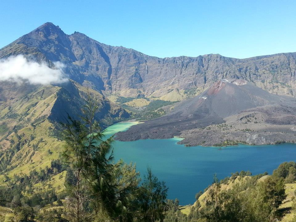 Rinjani-Lombok-Lake