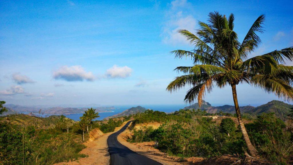 Rollertour-Sekotong-Lombok-Strasse