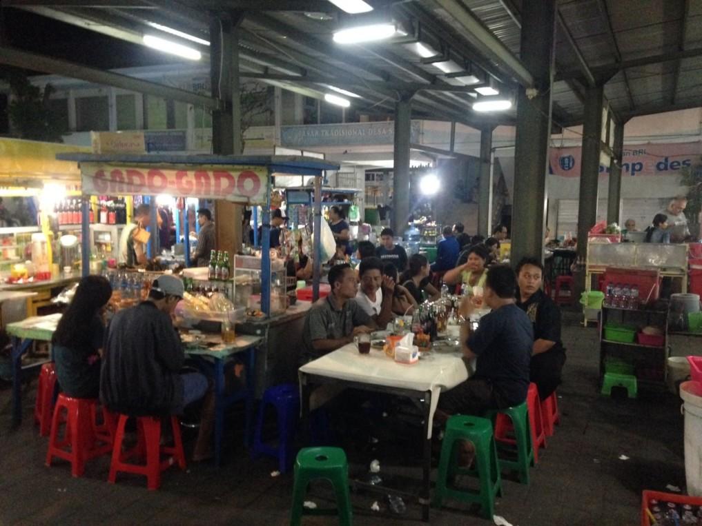 Sanur Bali Nachtmarkt