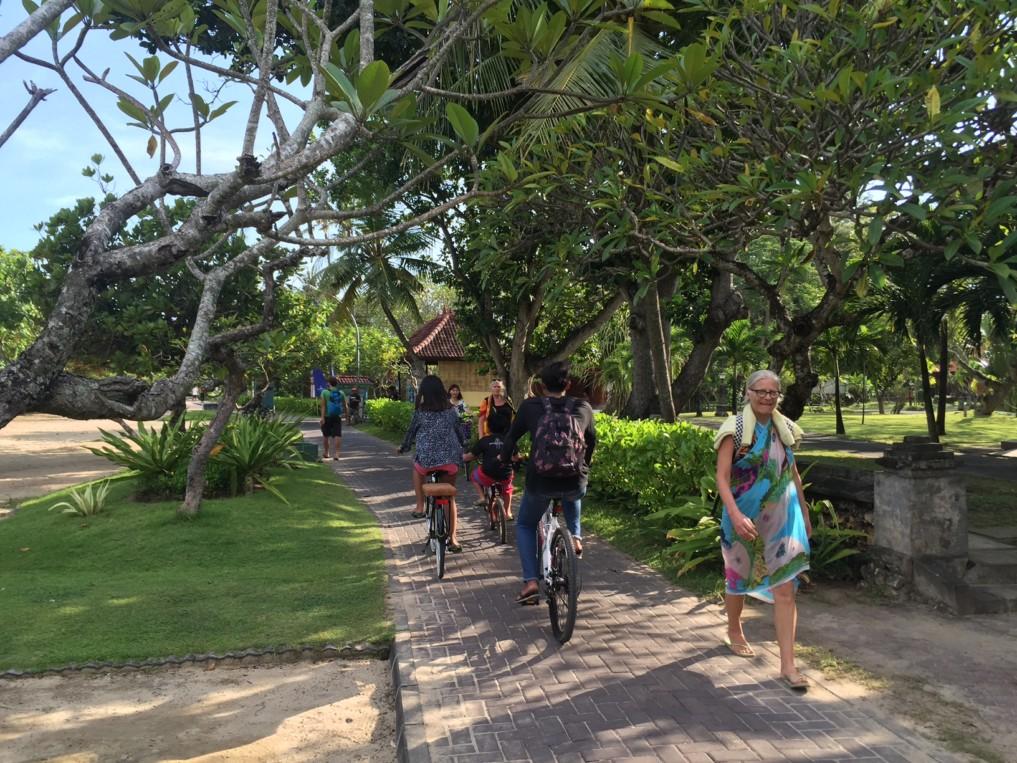 Sanur Bali Strandpromenade