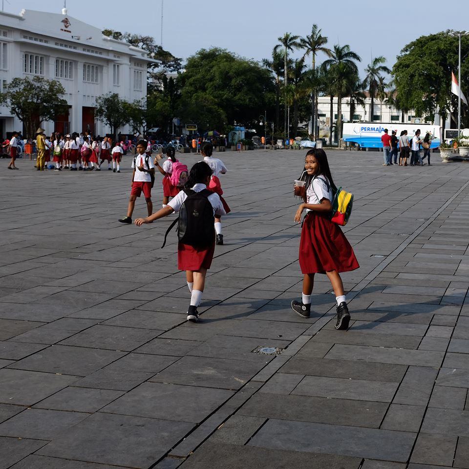 Schulkids Jakarta Michael Ederer