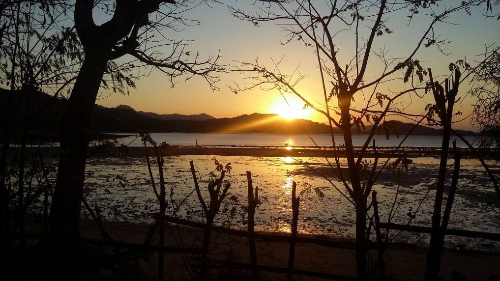 Sekotong Sonnenuntergang