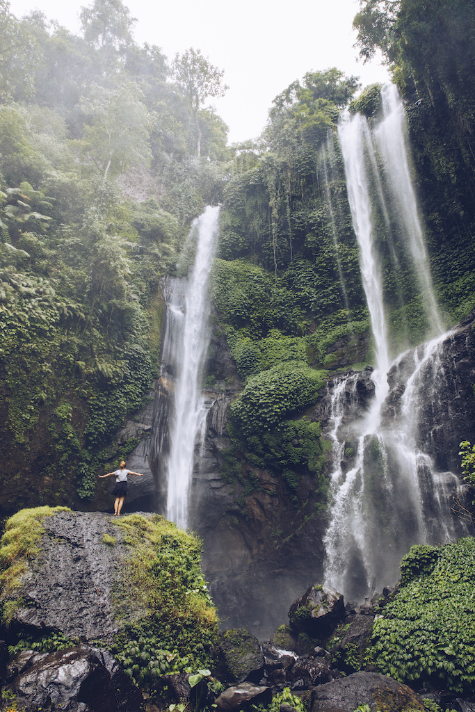 Sekumpul Wasserfall schoenster Wasserfall Balis