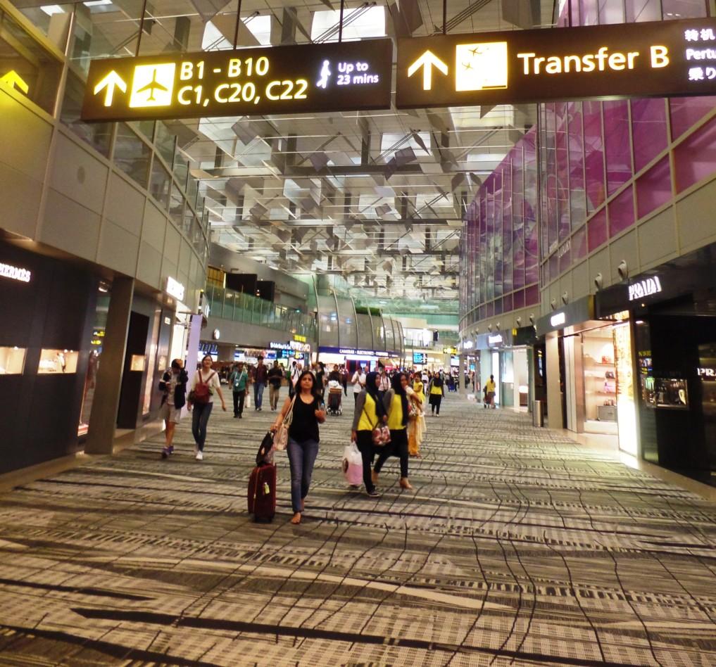 Halte dich beim Stop-Over in Singapur fit und vertrete dir die Beine