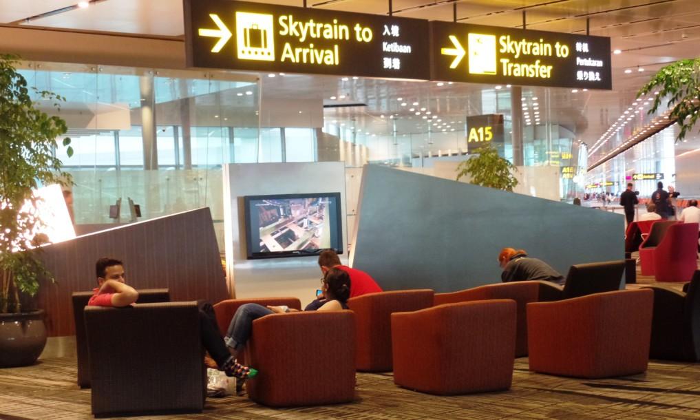 Der Singapurere Flugahfen bietet die eine große Auswahl an Kino-Filmen