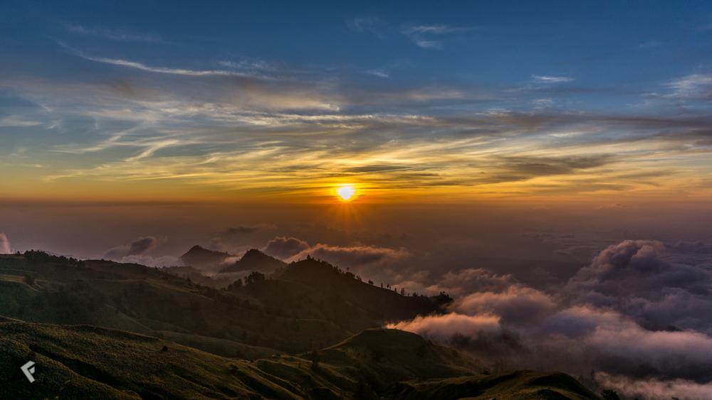 Sonnenaufgang Indonesien