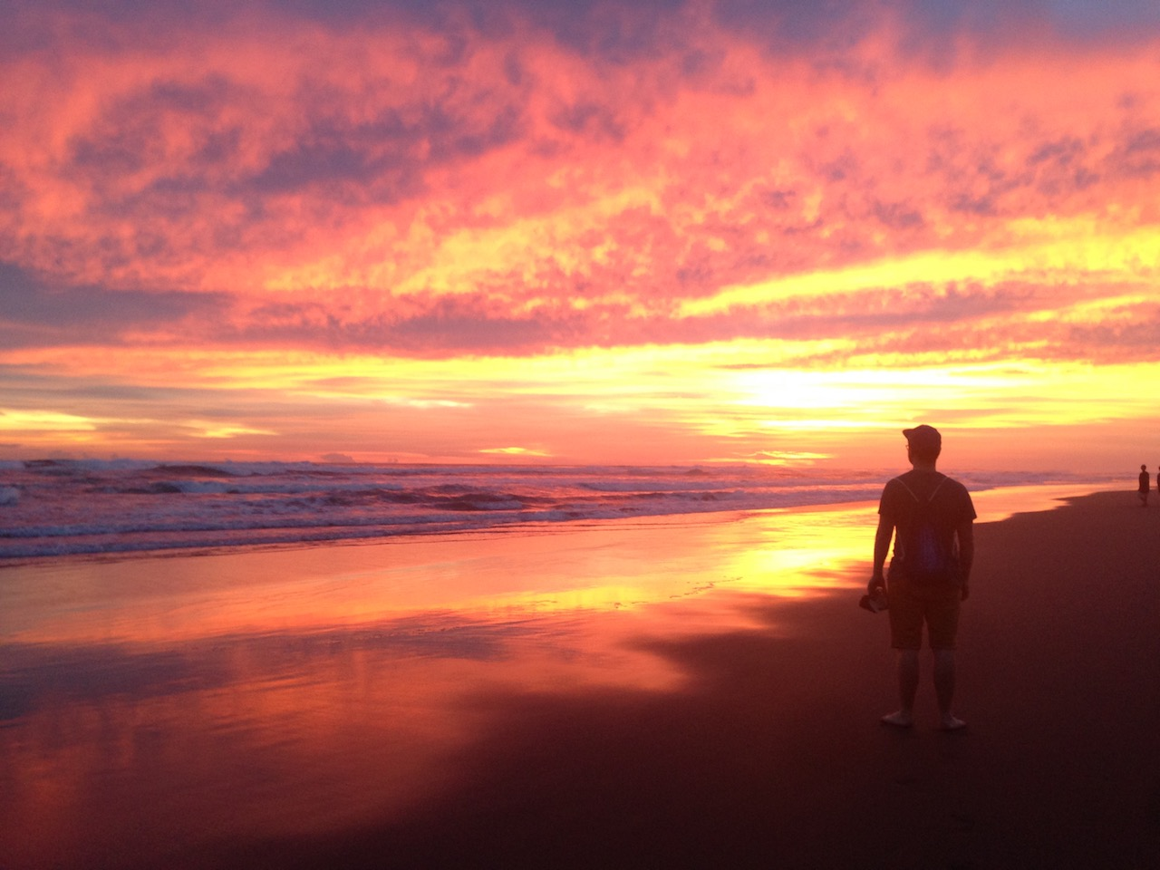 Sonnenuntergang bei Garduaction