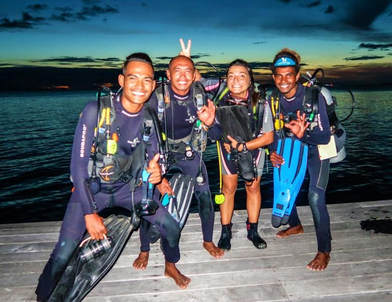 Staff Dive