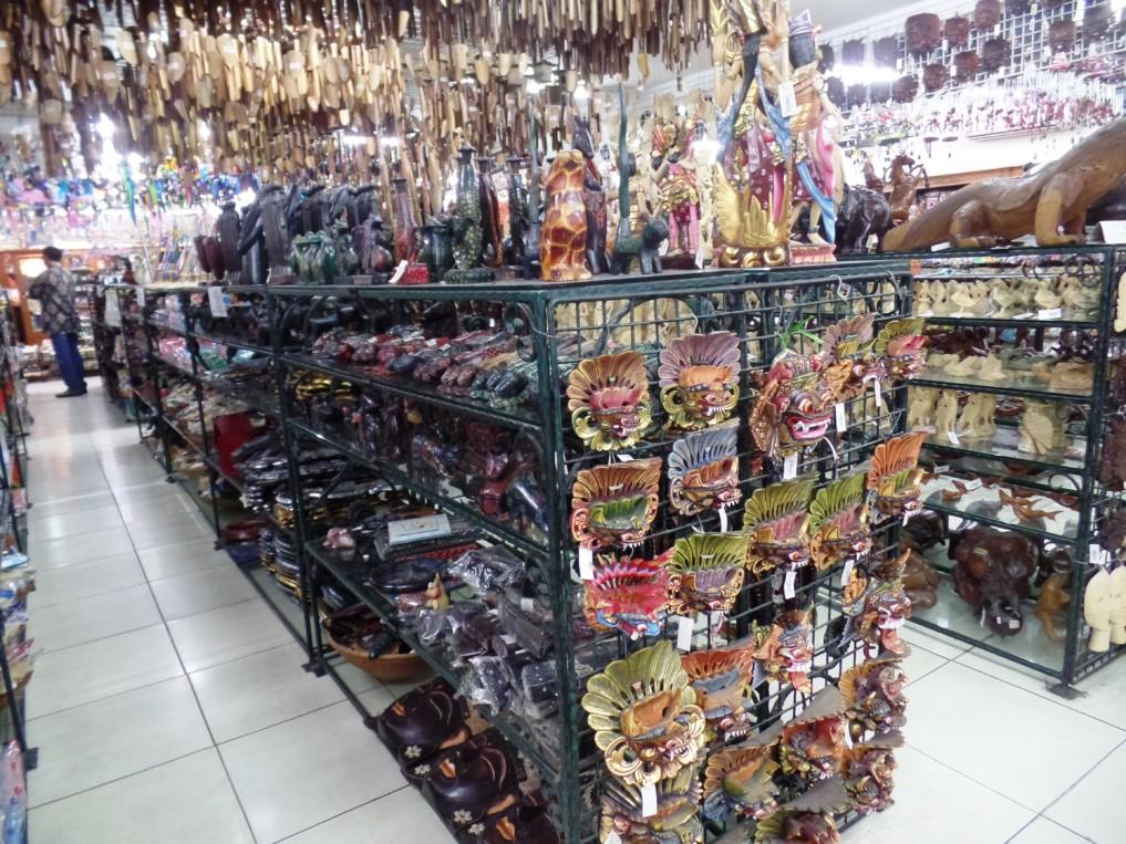 Souvenirs aus Indonesien findest du hier en Masse...
