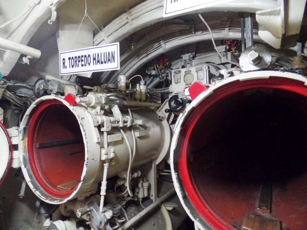 Das U-boot von innen zu sehen ist atembetraubend.