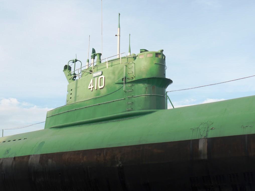 Das U-Boot war jahrzehntelang im Einsatz, bevor es zu einer Sehenswürdigkeit von Surabaya wurde
