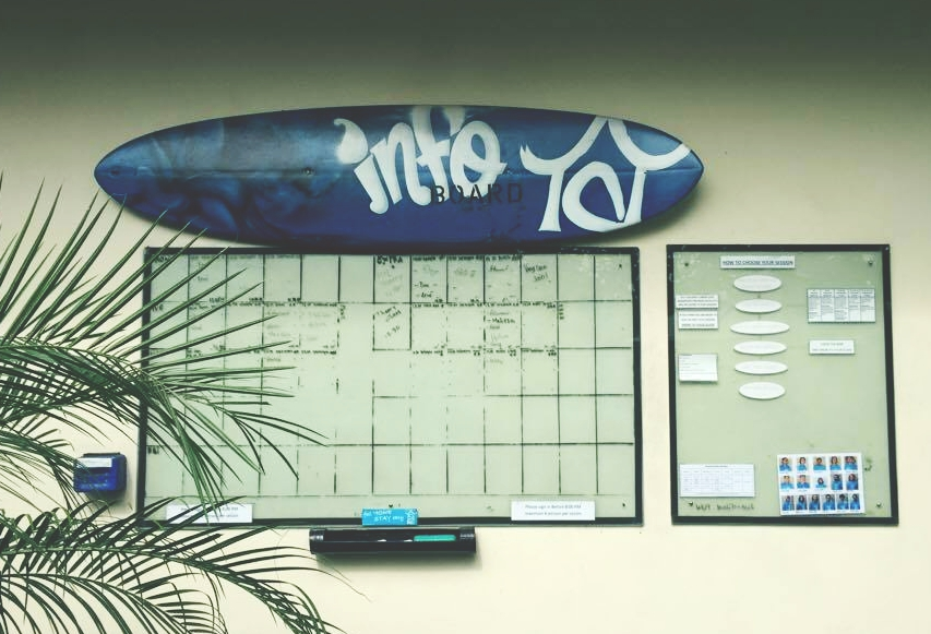 Surfboard Whiteboard