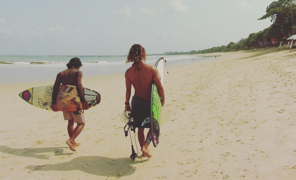 Surfer Yoga Uebungen