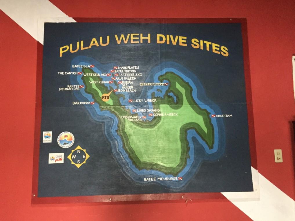 Tauchspots Pulau Weh