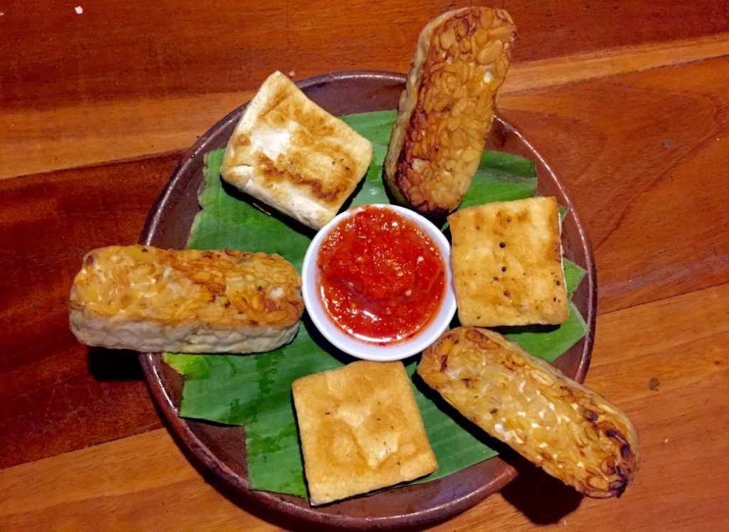 Tempe Tahu yogyakarta restaurant vegetarian