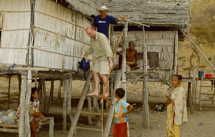 Hausbesuch auf Seraya Kecil 1999