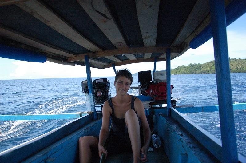 Togian Inseln und Steffi