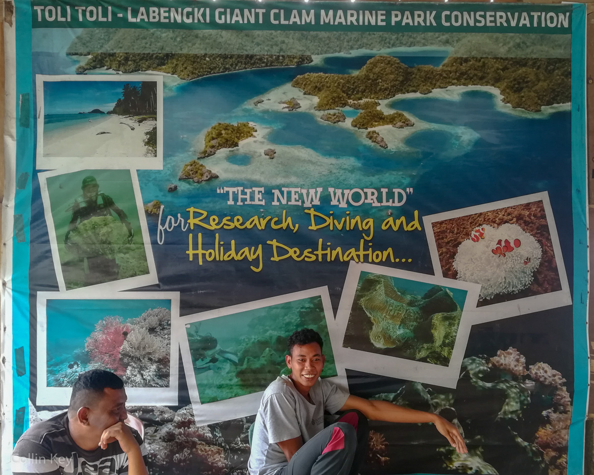 Toli-Toli Giant Clam Conservation Project