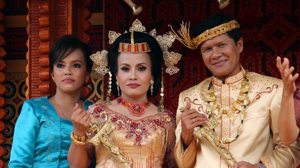 Sulawesi Traditionelle Hochzeitszeremonie in Tana Toraja