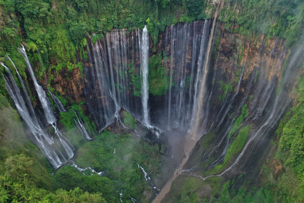 Tumpak Sewu Wasserfall