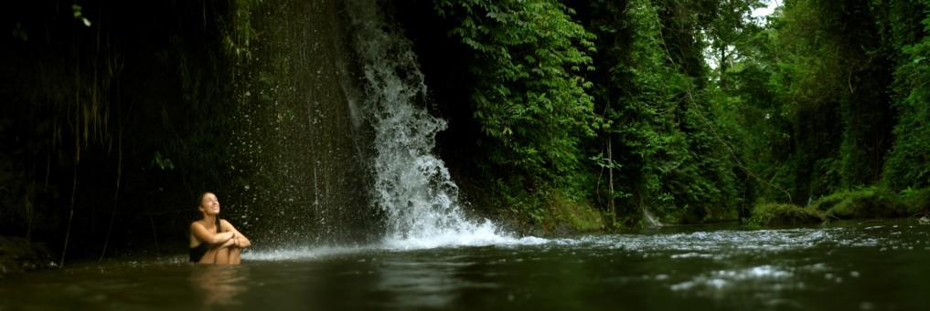 Wasserfall Paradies