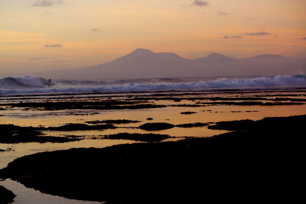 Sonnenuntergang in Uluwatu