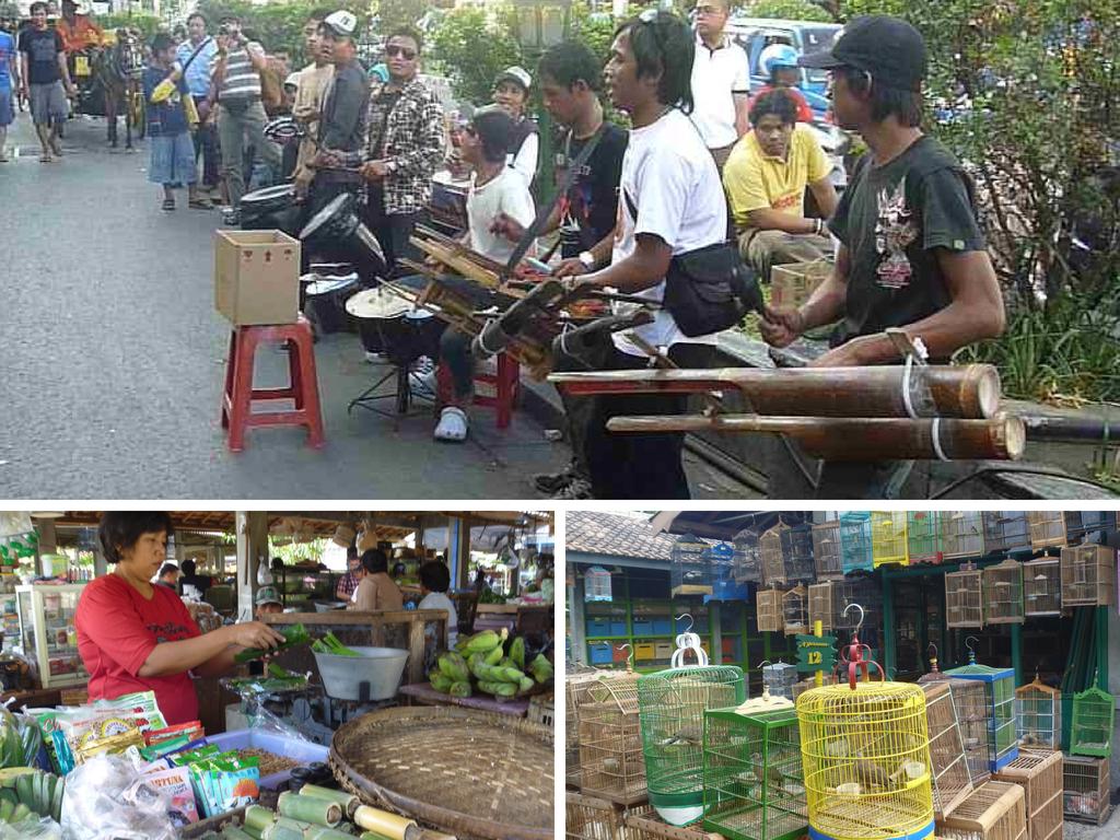 Auf den Straßen von Yogyakarta