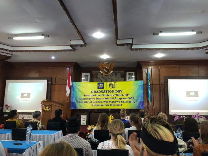 Warmadewa University auf Bali 3