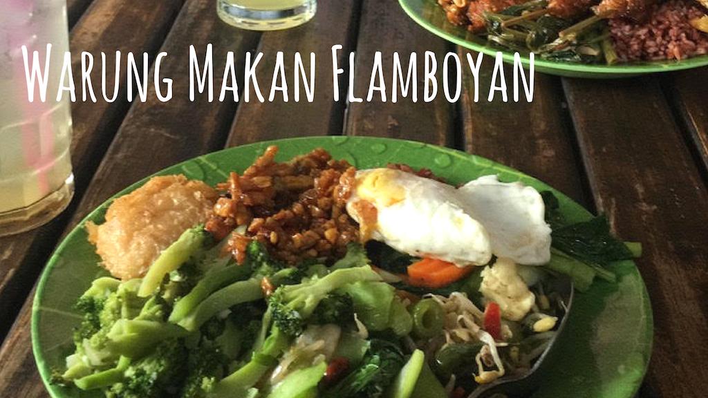 Warung Makan Flamboyan yogyakarta