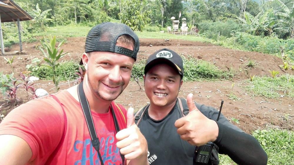 Wayan und Ben Jatiluwih