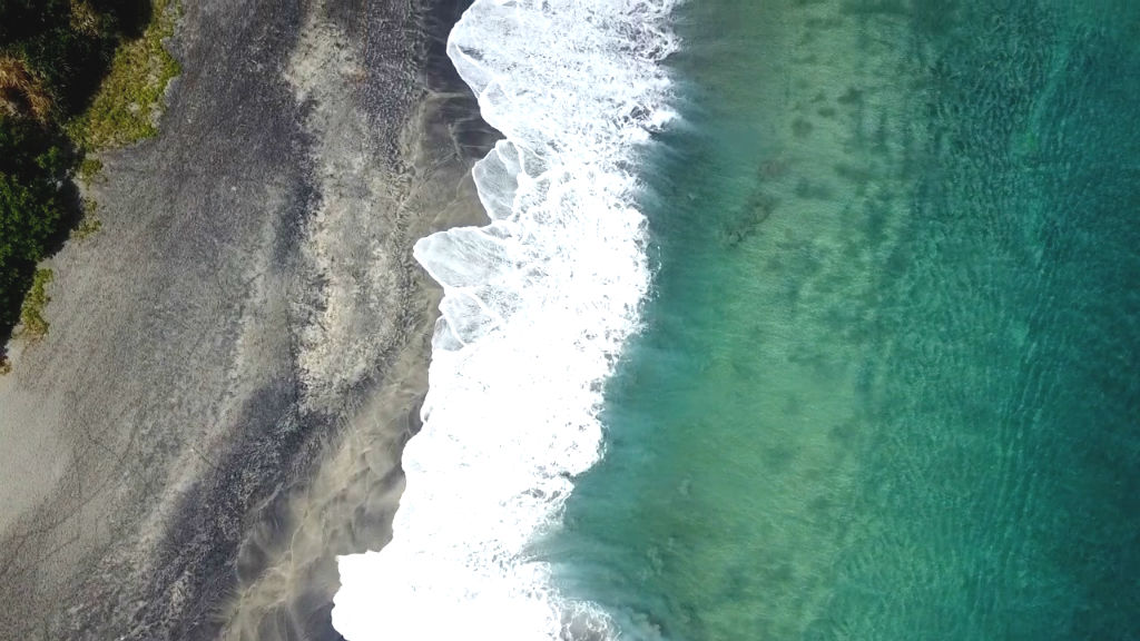 Wellen Lombok Strand Pantai Setangi 3